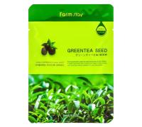 Тканевая маска Зеленый чай