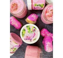 Скраб для тела Розовый фламинго