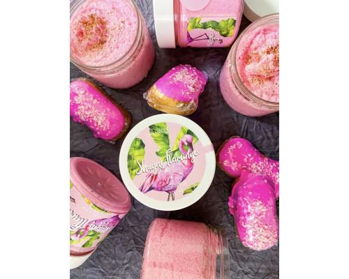 Скраб для тела Розовый фламинго Chambery