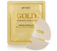 Гидрогелевая маска с золотом