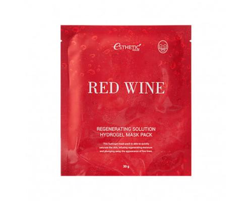 Гидрогелевая маска с красным вином