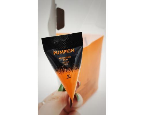 Маска для лица с тыквой Pumpkin Revitalizing Skin Sleeping Pack