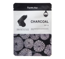 Тканевая маска с углем Visible Difference Mask Sheet Charcoal