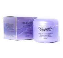 Ночной крем для лица Jigott Collagen Healing Cream