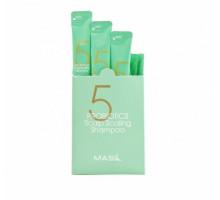 Шампунь для глубокого очищения кожи головы с пробиотиками Masil 5 Probiotics Scalp Scaling Shampoo 8 мл