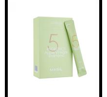 Шампунь от перхоти с 5 видами пробиотиков и яблочным уксусом Masil 5 Probiotics Apple Vinergar Shampoo 8 мл