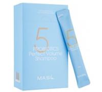 Мягкий шампунь для объема волос с пробиотиками Masil 5 Probiotics Perpect Volume Shampoo 8 мл