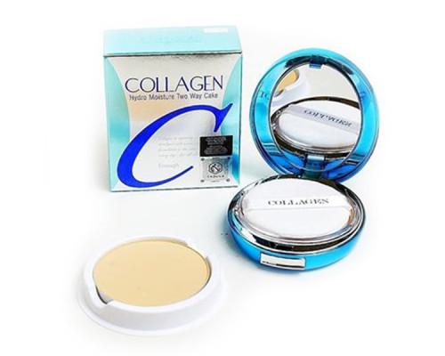 Увлажняющая коллагеновая пудра со сменным блоком Enough Collagen